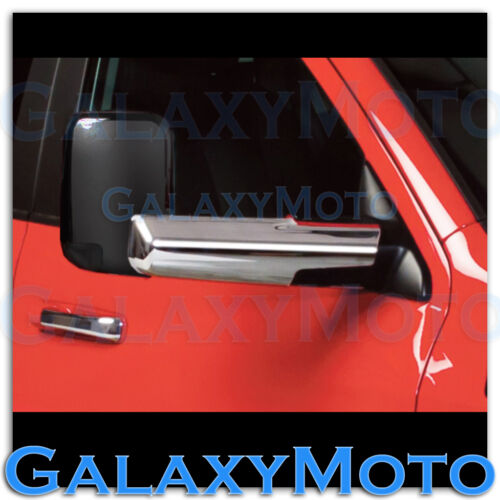 10-16 Dodge Ram 1500+2500+3500+HD Triple Chrome Towing Mirror for Arm cover only