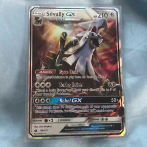 Silvally GX ULTRA RARE 90//111 SM Crimson Invasion Pokemon card TCG NM HOLO REAL
