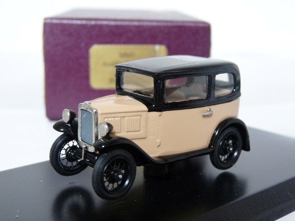 Milestone MM1 1 43 1932 Austin 7 Box Saloon Handmade Weiß Metal Modell voiture