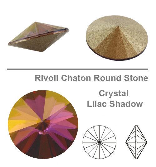 Many Colors /& Sizes Genuine SWAROVSKI 1122 Rivoli Round Crystals Foiled