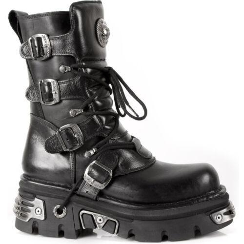 New Rock Boots Unisex Style 373 S4 Black