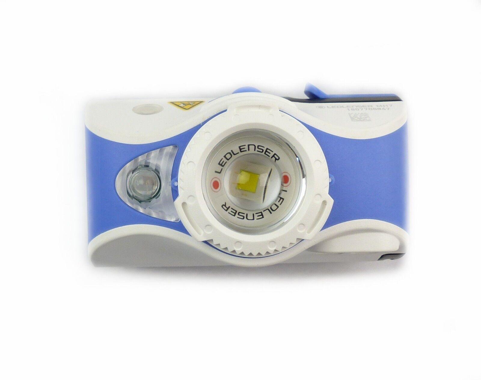 Ledlenser 500992 LED Kopflampe Stirnlampe MH7 MH7 MH7 Blau Weiß 600 Lumen mit Akku 86ca9a