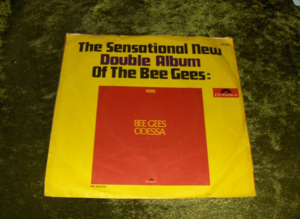 EP, BEE GEES, EP: BEE GEES - FIRST OF MAY - Polydor 59260