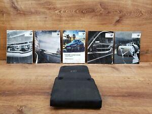 ✅ 16-19 OEM BMW F30 3-series Sedan 330 Owners Manual Book With Wallet SET *NOTE