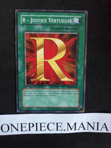 Justice Vertueuse EOJ-FR040 1st Yu-gi-oh R