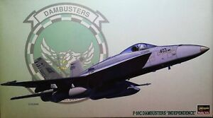 McDONNELL-DOUGLAS-F-A-18C-HORNET-034-DAMBUSTERS-INDEPENDENCE-034-FA-F-18-1-72-HASEGAWA