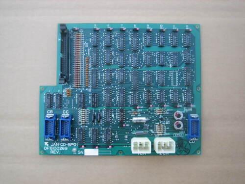 YASNAC YASAKAWA JANCD-SP01 Panel PCB
