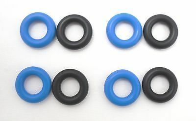 4 paires Vauxhall Astra G /& Vectra B Fuel Injector Seal Ring GENUINE NEW