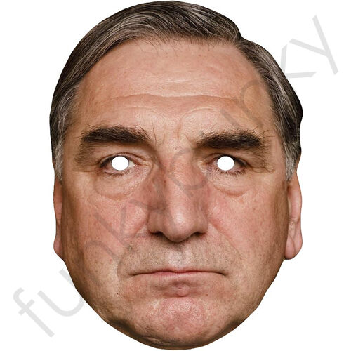 Celebrity Card Mask.All Masks Are Pre-Cut Mr Carson Downton Abbey Jim Carter