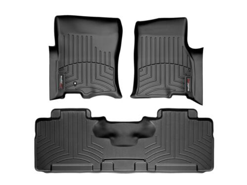 Mountaineer 07-10 1st 2nd Row Black WeatherTech FloorLiner Mats for Expedition