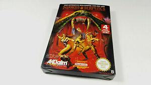 Swords-amp-Serpents-Nintendo-NES-Spiel-PAL-B-OVP-CIB-NES-WP-NOE-Boxed-Near-Mint-VG