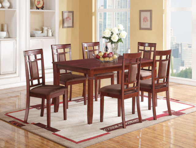 Acme 71160 Sonata Cherry Dining Table For Sale Online Ebay