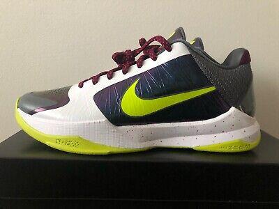 Nike Kobe V 5 protro Chaos Violet CD4991 100 Cyber Homme Basketball Chaussures De Sport   eBay