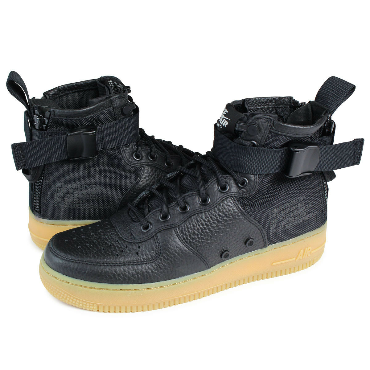 NEW Nike Women's SF AF1 Mid Boots Black Gum Special Field Many Sizes AA3966 002