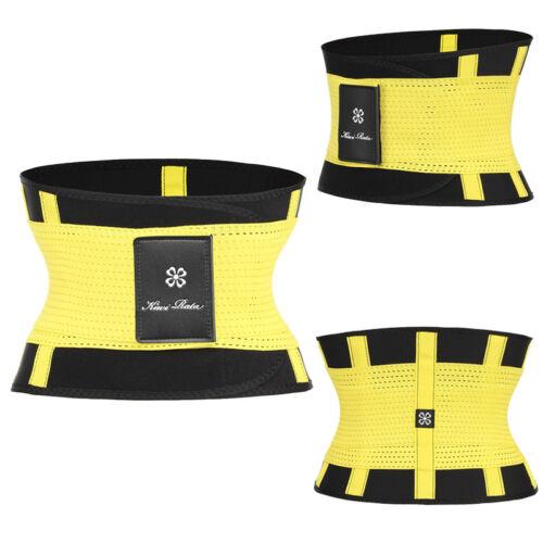 Lose Weight Waist Trainers Unisex Workout Shaper Sport Girdles Running Belts-SS