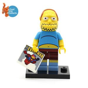 Genuine Lego  The Simpsons  Comic Book Guy Series 2 Mini Figure