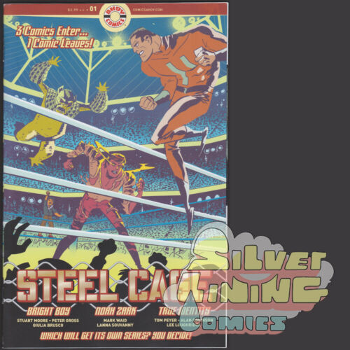 STEEL CAGE #1 AHOY COMICS 2019