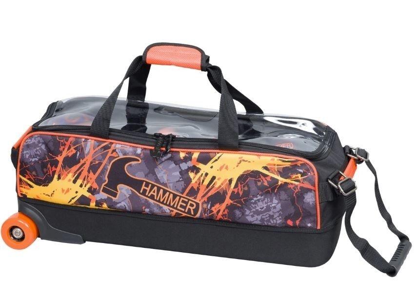 Hammer Dye Sub Slim Triple Roller Fire Bowling Bag