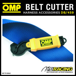 DB-459-OMP-RACING-HARNESS-SEAT-BELT-SAFETY-CUTTER-TOOL-CUTS-HARNESS