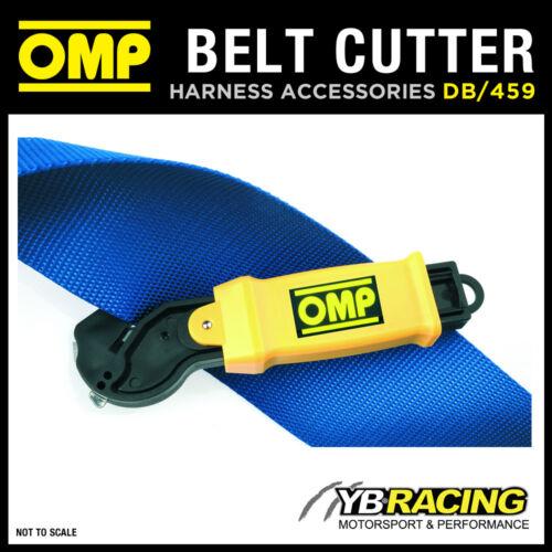 459 OMP Racing harnais ceinture sécurité Cutter Outil-découpes harnais Db