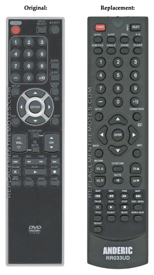 New NF033UD Replace Remote for Sylvania TV LD190SS1 LD320SS2 LD190SS2 LD195SSX
