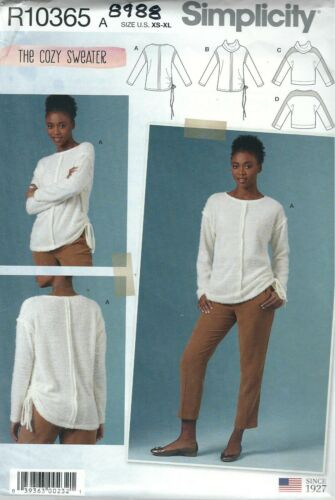 Simplicity 8988 Misses/' Knit Tops 6 to 24    Sewing Pattern