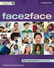 Face2face Upper Intermediate Student's Book with CD-ROM/Audio CD by Chris Redston, Gillie Cunningham (Mixed media product, 2007)