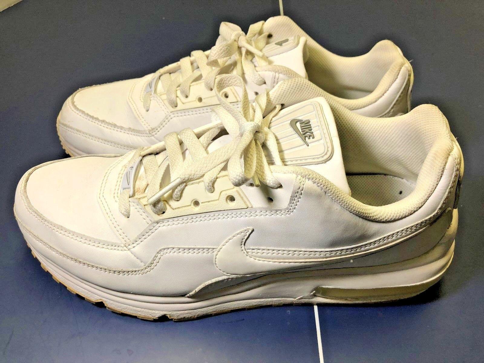 Nike Air Max Ltd Triple Size White Men's Sneakers/Running Shoes, Size Triple 8.8 316376-111 1cbd36