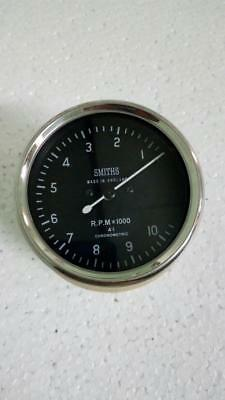 Smiths Tachometer 80 mm fitment 8000 rpm M12x1 thread Replica