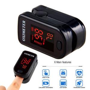 Finger-Fingertip-Pulsoximeter-SPO2-OLED-Blutsauerstoffmessgeraet-Pulsmesser