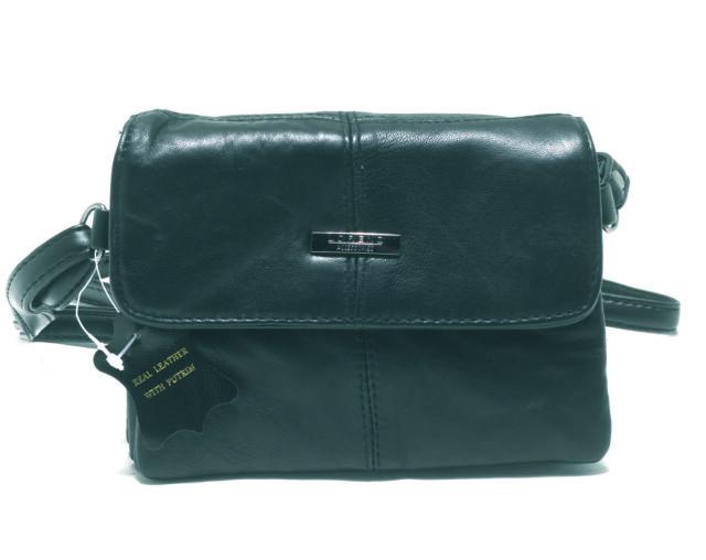 d32221caa520 Lorenz Ladies Girls Small Soft Leather Handbag Shoulder Bag Over body Bag  1944