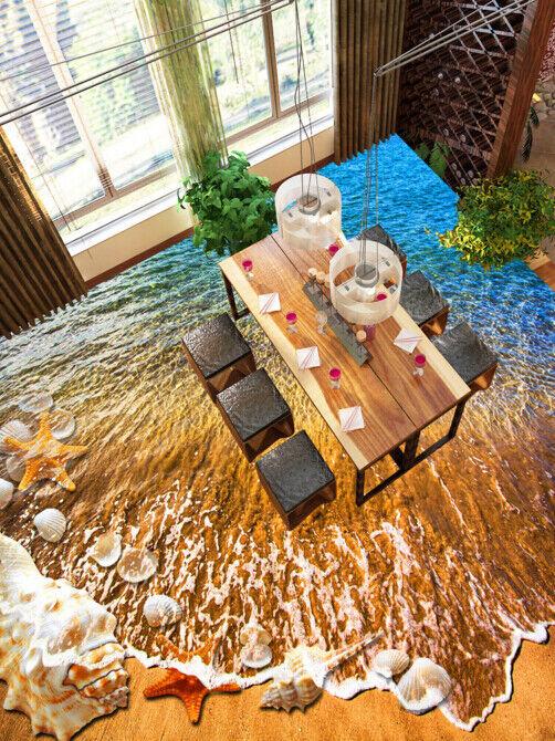 3D Wellen 57 Fototapeten Wandbild Fototapete Tapete Familie DE Lemon