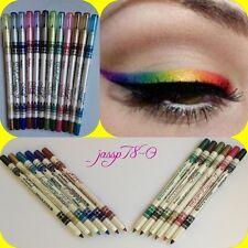 12pc Glitter Eyeliner/Lip liner LongLasting - MeNow -SHIP 3PM