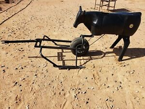 Ground Driven Roping Dummy, Pull it w/ATV or anything.