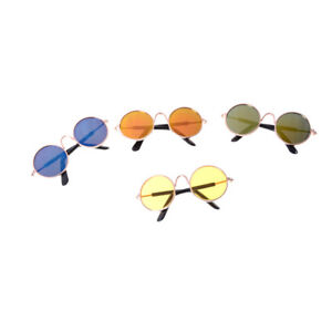 Doll-Accessories-Round-Colorful-Glasses-Sunglasses-For-Bjd-18-034-American-Doll-JR