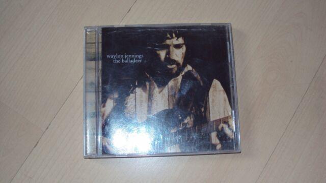 CD WAYLON JENNINGS the balladeer