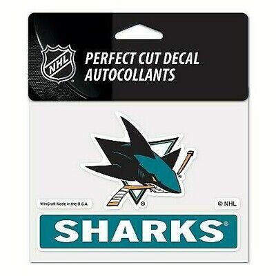 San Jose Sharks NHL Color Perfect-Cut Decal / Sticker ...