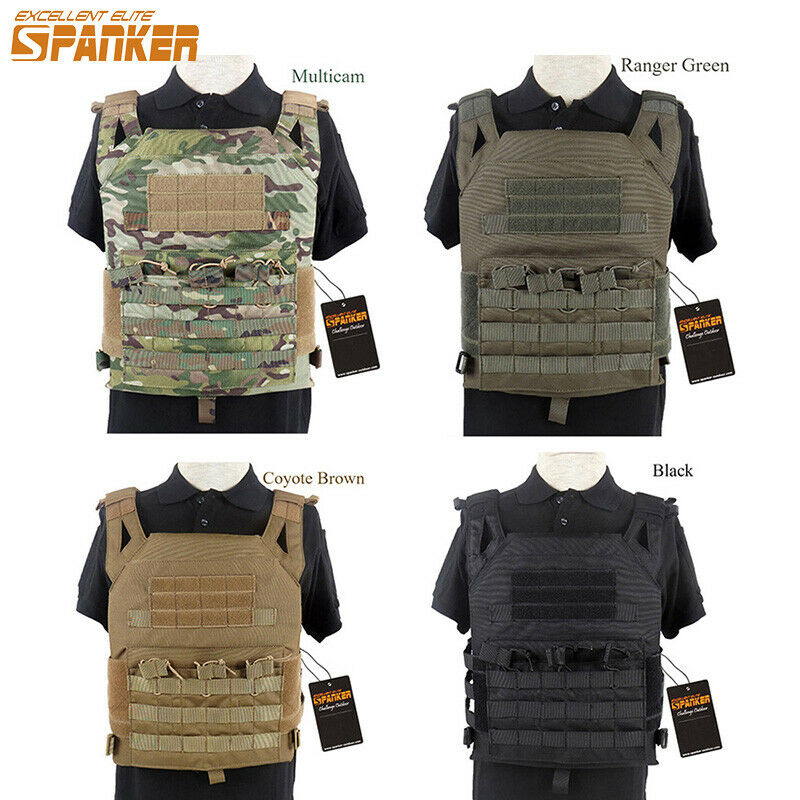 Tactical Molle Vest  Camouflage Plate Carrier SWAT Airsoft Hunting Police Gear  fast shipping and best service