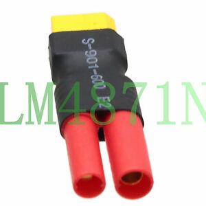 HXT 4mm Bullet Banana Male to XT60 Female Housing Adapter ZIPPY Turnigy BATTERY