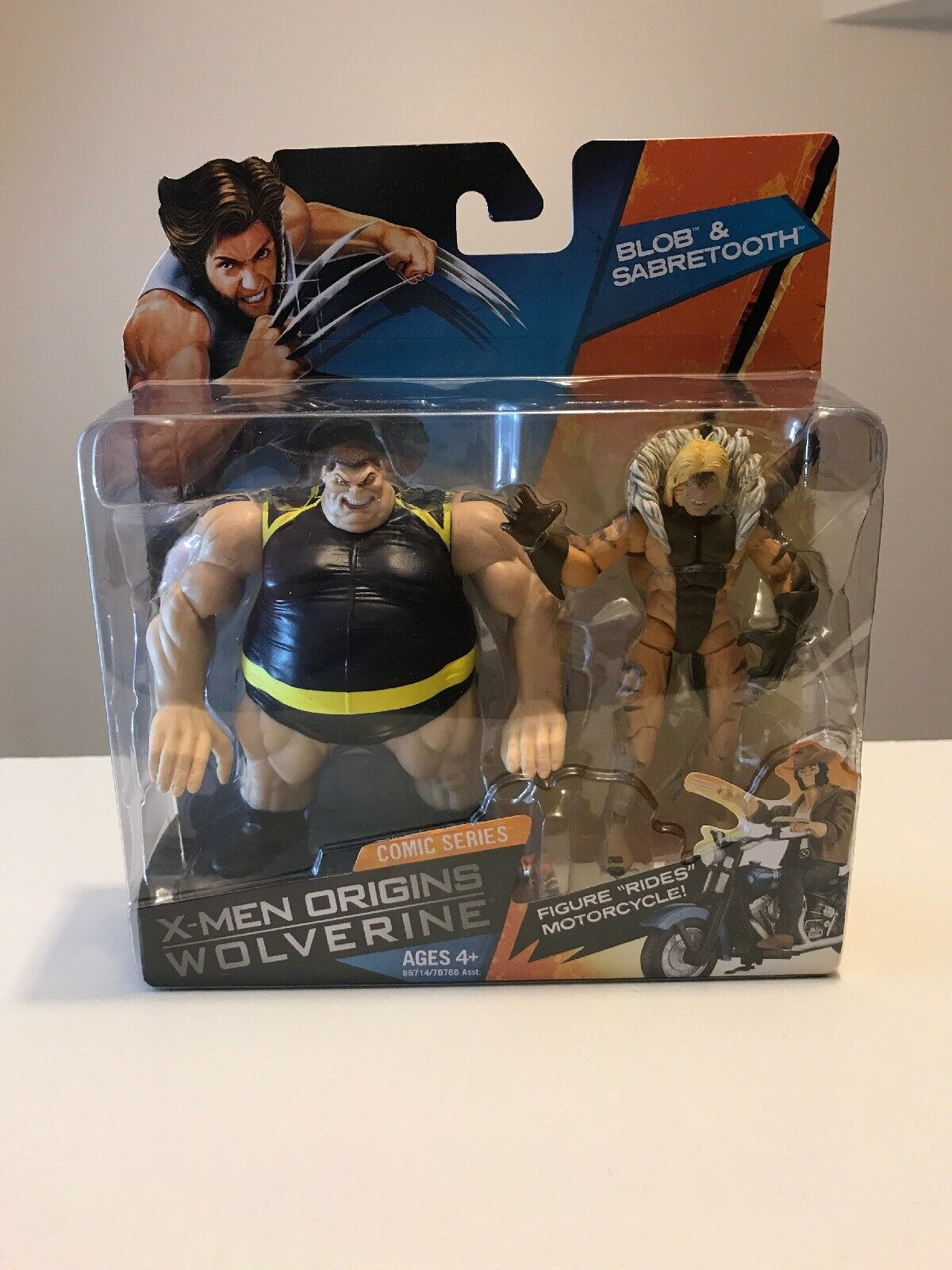 X-MEN ORIGINS BLOB & SABERTOOTH MARVEL UNIVERSE BLOB X-MEN ORIGINS SABERTOOTH