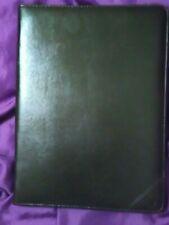 Cambridge Organizer Faux Leather Business Portfolio Folder Notebook Holder Brown