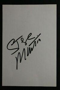 Steve Martin Famous US Comedian Actor Singer Films Autographed Signed 4x6 Card