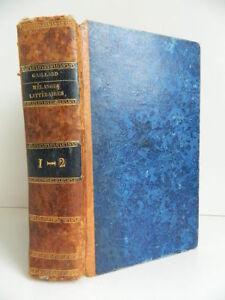Mezcla Unitardos, Poético, Literaria Strapping T. 1&2 H.Agasse 1806 E. O