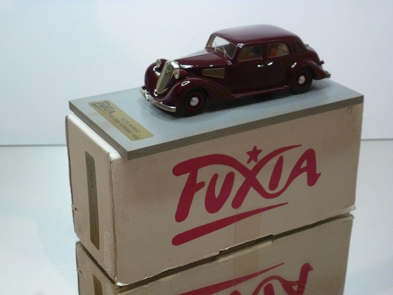 Fuxia Alfa Romeo 6c 2500 turismo 1939 rojo oscuro 1 1 1  43 caja muy buena. 909