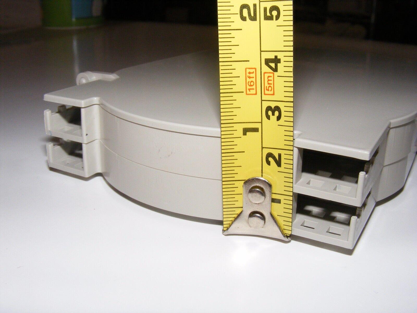 fiber optic splice tray 12 24  cores heat fusion heat shrink chip small x2