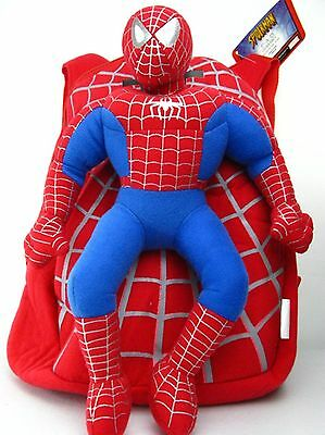 NEW Plush Spider-man spiderman doll Backpack bag FREE SHIPPING