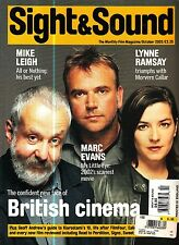 Sight and Sound Magazine October 2002 British Cinema Mike Leigh Marc Evans
