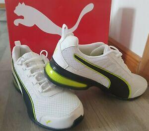 12uk11 Us Lime Acid Leader Details Puma White Zu 5 Sneaker Vt Mesh Gr45dt10 CrdeWQxBo