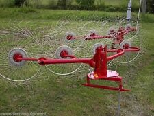 New Enorossi 4 Wheel 3 Pt Hay Rake Free 1000 Mile Free Delivery From Kentucky