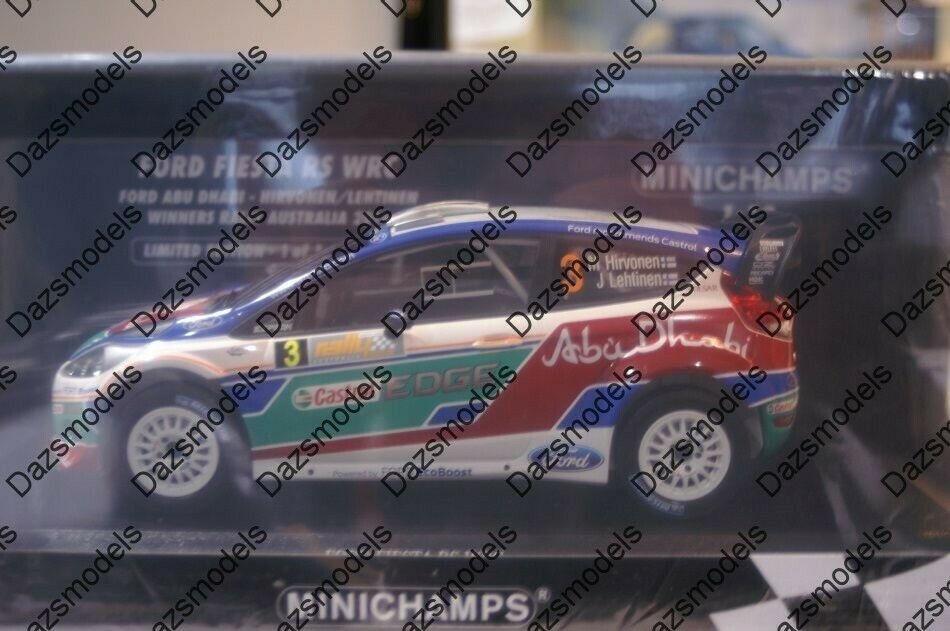 Minichamps Ford Fiesta RS WRC Australia 2011 151 110803 in 1 18